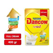 DANCOW Fortigro Susu Full Cream Box - 400g
