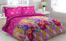 Sprei Bantal 2 Vito Disperse 180x200cm Barbie - Pink Pink