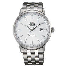 Orient Symphony Automatic Men White Dial Stainless Steel Strap [FER2700AW] Silver