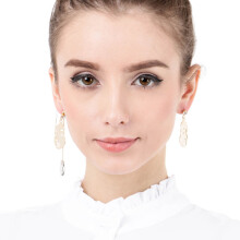 VOITTO Fashion Jewelry Vonly Sister V11 Earrings [Gold]