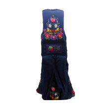 Baba Slings Embroidery Gendongan Bayi - Navy Mexican