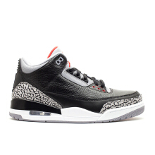 Air Jordan 3 - Black Cement (2011) Black US 8