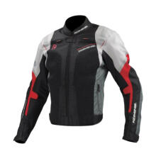 KOMINE JK-109 R-SPEC Mesh Jaket Touring - Black Red