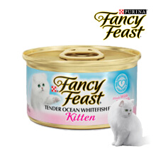 FANCY FEAST KITTEN OCEAN WHITEFISH 85gr [6 Pcs]