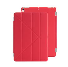 Ins I-385 artificial leather Hard Core sheer Apple Ipad MINI1/2/3 protective cover&Y stand-Red