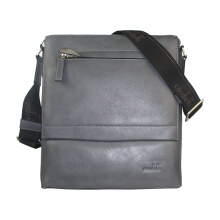 Condotti C-94098 Leather Sling Bag - Dark Grey