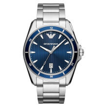 Emporio Armani Sport AR11100 Blue Dial Stainless Steel Strap [AR11100]