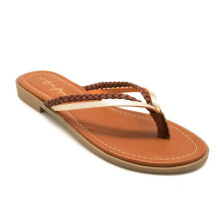 APPLE GREEN Beth Sandals Brown