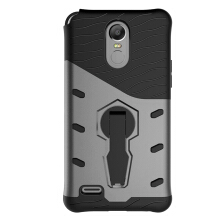 Smatton Case hp LG Stylus3 Case Armor Shockproof Hybrid Hard Soft Silicone 360 Degree Rotation Phone Cover shell