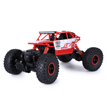 HB P1801 2.4GHz 1:18 Scale RC Rock Crawler 4WD Race Truck Toy EU PLUG-Red