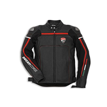 Ducati Leather Jacket Corse C2 BL/BL Man