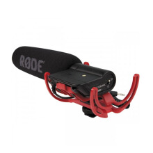 Rode VideoMic Directional On-camera Microphone with Rycote Lyre Black