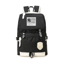Ins I-235 Trendy outdoor travel &casual backpack-Black