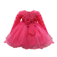 BESSKY Flower Baby Girl Princess Bridesmaid Pageant Gown Birthday Party Wedding Dress_