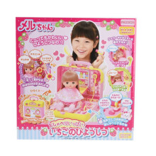 MEL CHAN Strawberry Beauty Salon Set - Multicolor