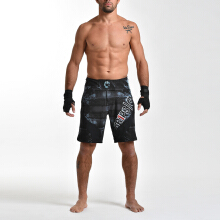 GRIPS Fight Shorts Miura 2.0 - Tribal Hunt Black