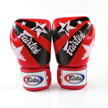 FAIRTEX Boxing Gloves NP Red NationPrint BGV1-NP