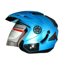 ORCA Spider Ice Blue Helmet Half Face