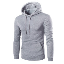 BESSKY Men Retro Long Sleeve Hoodie Hooded Sweatshirt Tops Jacket Coat Outwear _