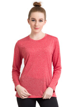 Corenationactive Basic Long Sleeve Red