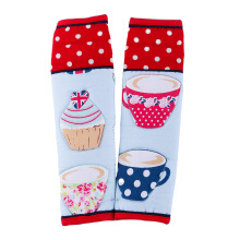 ARNOLD CARDEN Refrigerator Handle Cover Cup Cake 1 Pair - Red 15x20cm