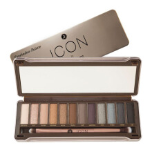 ABSOLUTE NEW YORK Icon Eyeshadow Palette Smoked Color
