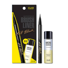 CLIO PROFESSIONAL Waterproof Brush Liner Kill Black - Lip & Eye Remover