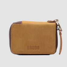 BRODO - Key Wallet 2.0 Choco Tan Brown