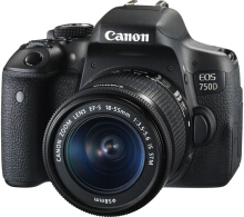 CANON EOS 750D Kit EF-S 18-55mm IS STM - Black