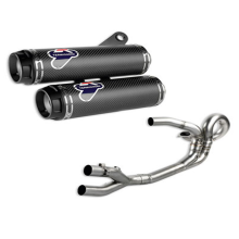 Ducati Racing Complete Exhaust System Kit - Monster 1200 (Kode : 96480301A)