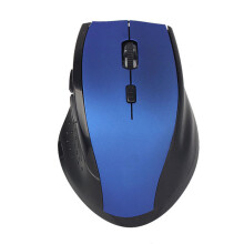 BESSKY Luxury 2.4GHz Wireless Optical Gaming Mouse Mice For Computer PC Laptop_ Blue