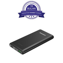 Tronsmart Presto 10.000mAh Quick Charge 3.0 Power Bank - Black/Hitam