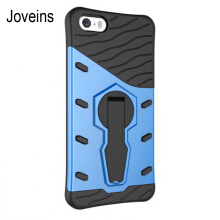Joveins iPhone 5 5S 5se Case Multi-Layer Hybrid Protective Case with 360 Degree Rotating Stand for iPhone 5 5S 5se Cover