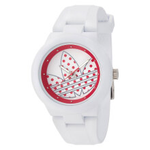 Adidas Aberdeen Multi Colour Dial White Rubber Strap Watch [ADH3051]