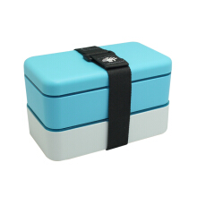ARNISS Lunch Box Oishii Blue (2x 600ml) LB-0412