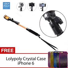LOLYPOLY MONOPOD TONGSIS FREE CASING IPHONE 6