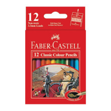 FABER-CASTELL Classic colour pencils 12 S 115851