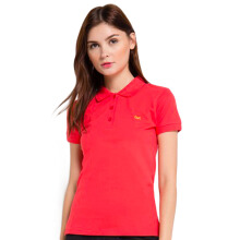 CARVIL Pakaian Wanita Polo Shirt Chelsea-Tom Tomato - Tomato Red