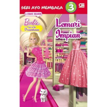 Comic Reader: Barbie Life In The Dreamhouse: Lemari Impian - Mattel