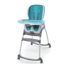 INGENUITY  Trio 3 in 1 Smartclean High Chair - Aqua