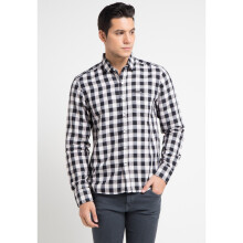 COTTONOLOGY Men's Shirt Timmy Black Long