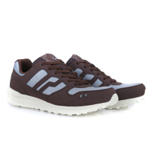 PIERO SNEAKERS JOGGER EXPRESS BROWN - PINECONE/GREY/OFF WHITE