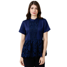 ALERA Official Kiela Lace Top - Navy