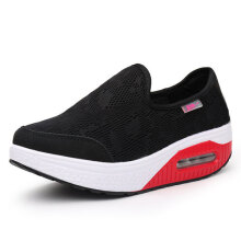 Rocker Sole Shoes Women Slip On Sport Casual Running Canvas Shoes