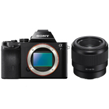 Sony Alpha A7 Special Package with FE 50mm 1.8 Black