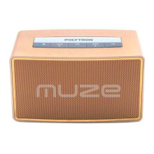 POLYTRON Muze Mini Bluetooth Speaker B-1 - Gold