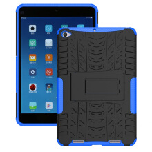 RockWolf Xiaomi MiPad 2/Mipad 3 case TPU anti-fall colorful back clip bracket flat shell