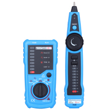 Famirosa Bside Fwt11 Handheld Rj45 Rj11 Network Telephone Cable Tester Wire Line Tracker  - Blue And Black