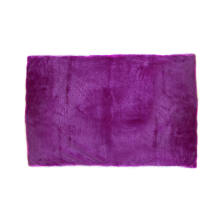 GLERRY HOME DÉCOR Square Magenta Fur Rug - 150x300Cm
