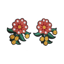 PATCH.INC Two Pink Flower 15x14 cm [One Size]